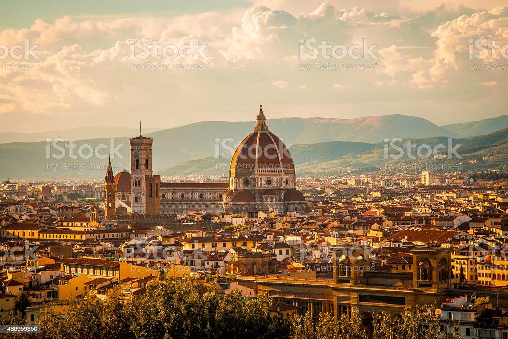 Duomo – Florence, Italy stock photo