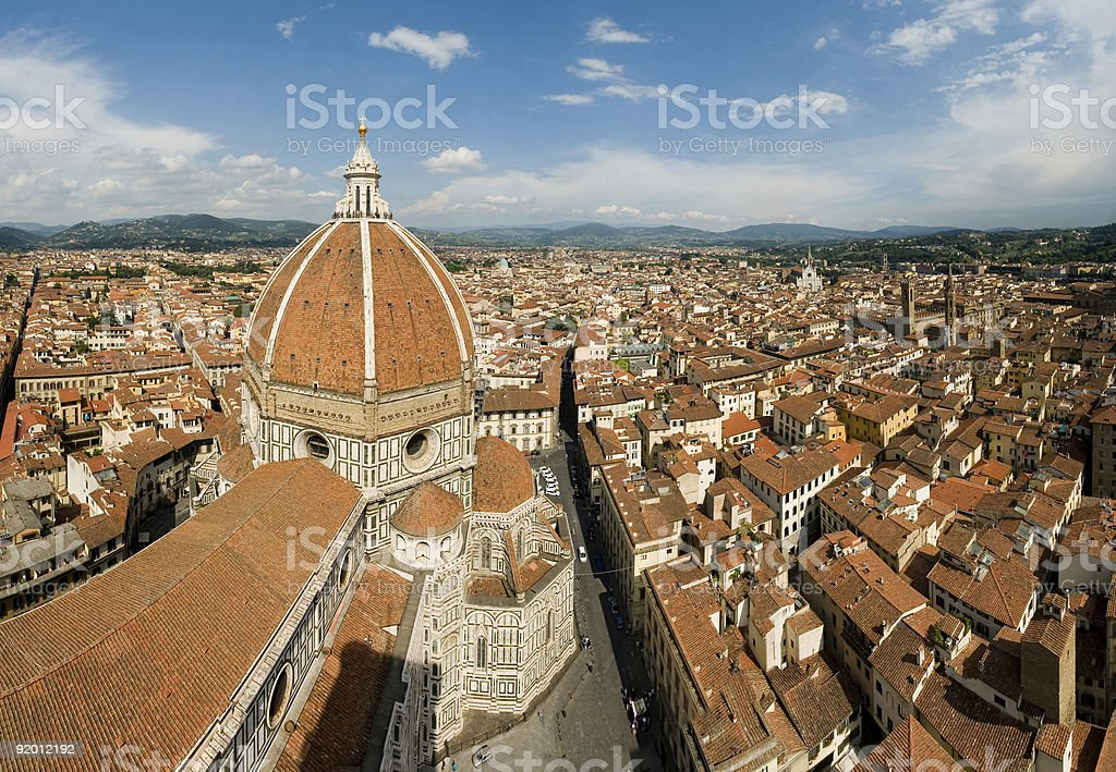 Duomo Florence stock photo