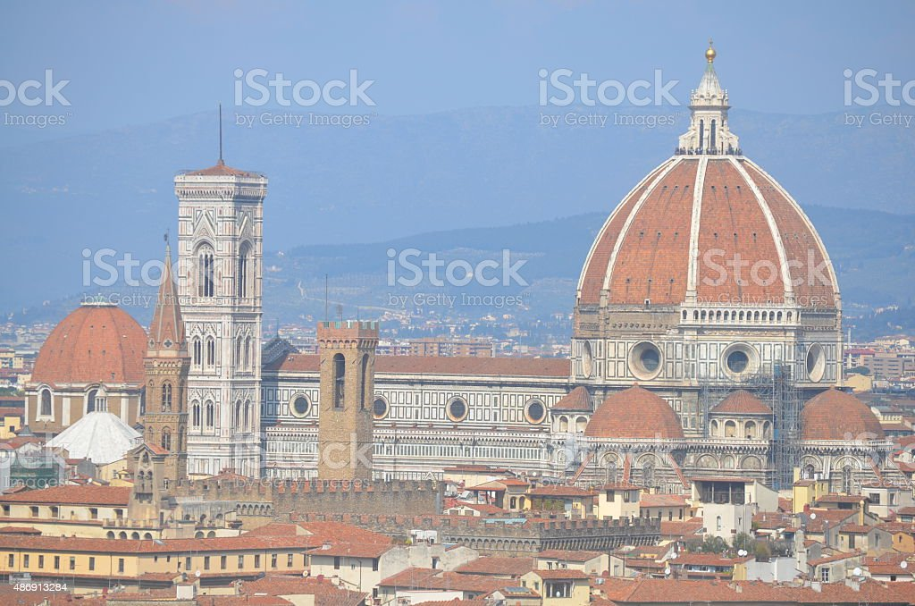 Duomo in Florence, Tuscany Italy stock photo