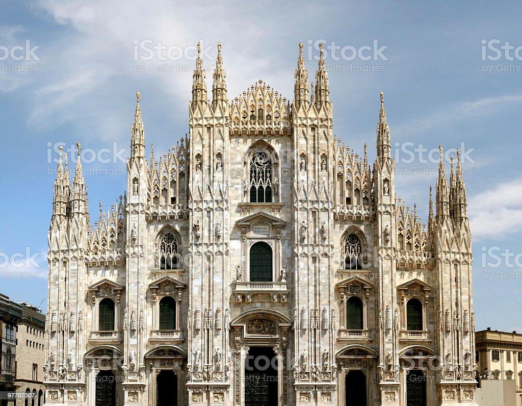 Duomo, Milano stock photo