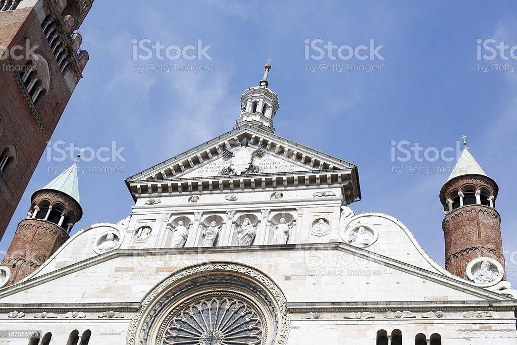 Duomo of Cremona royalty-free stock photo