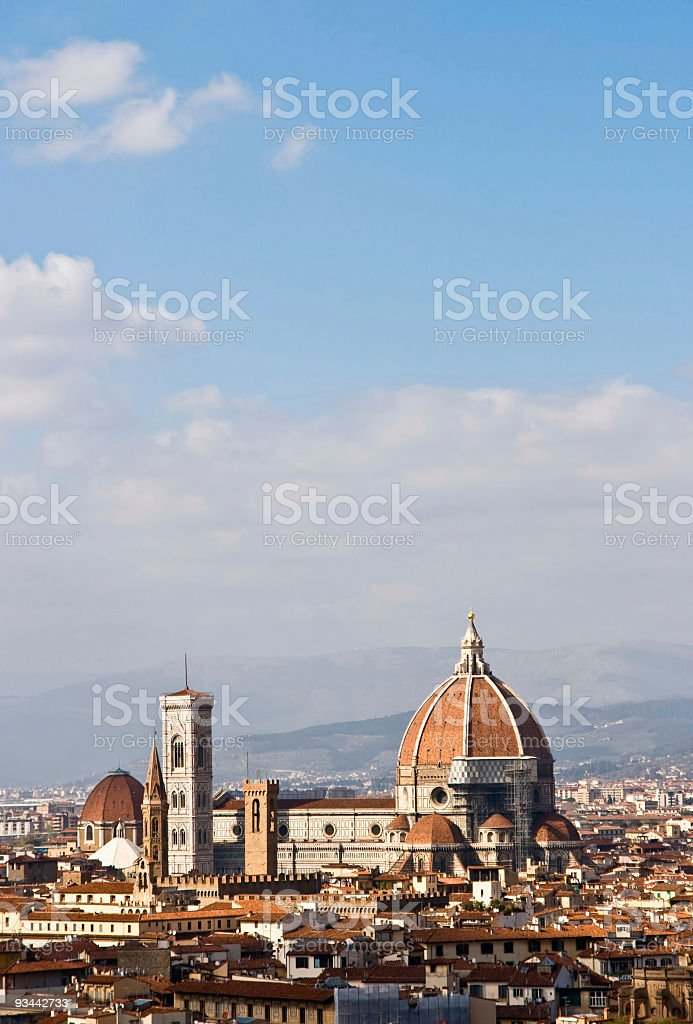 Duomo of Florence royalty-free stock photo