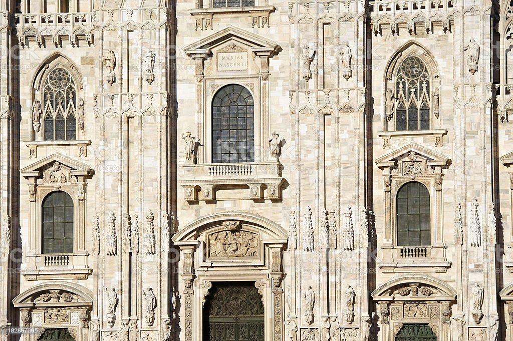 Duomo of Milan royalty-free stock photo
