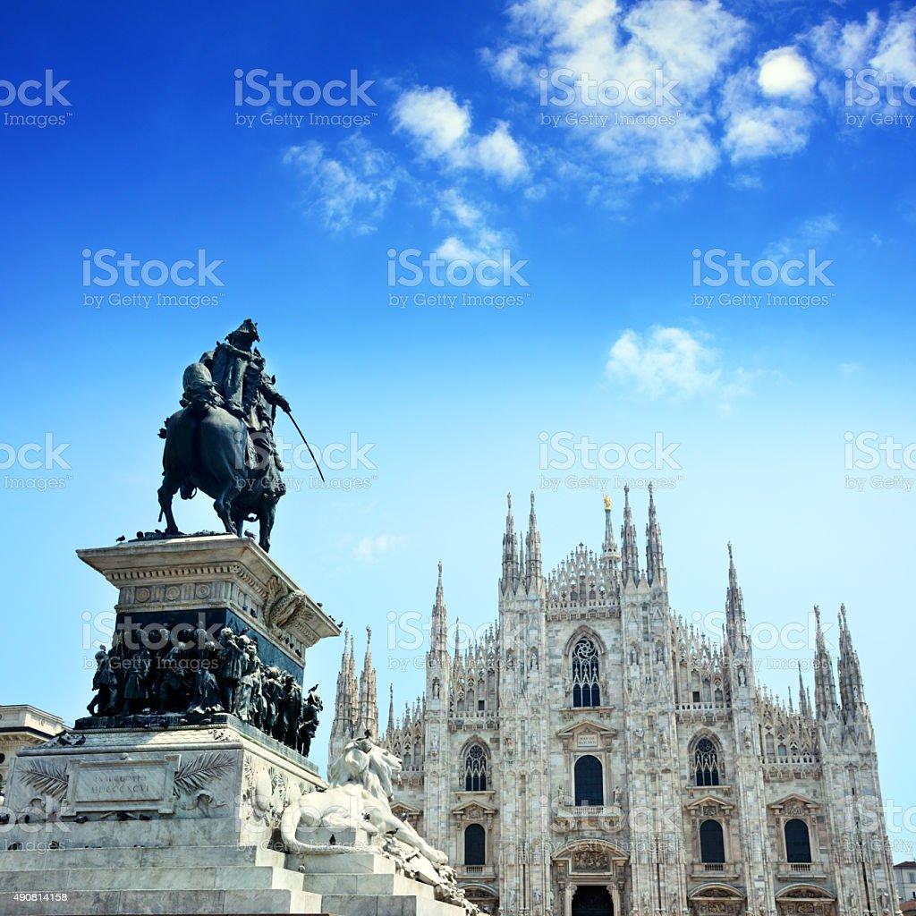 Duomo Of Milan stock photo