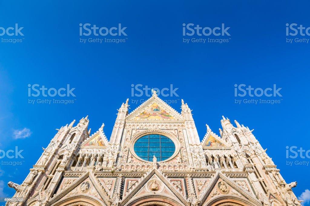 Duomo of Siena, Italy stock photo