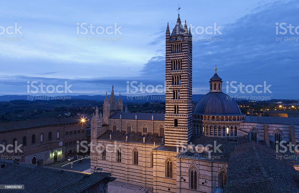 Duomo of Siena (Tuscany,Italy) royalty-free stock photo