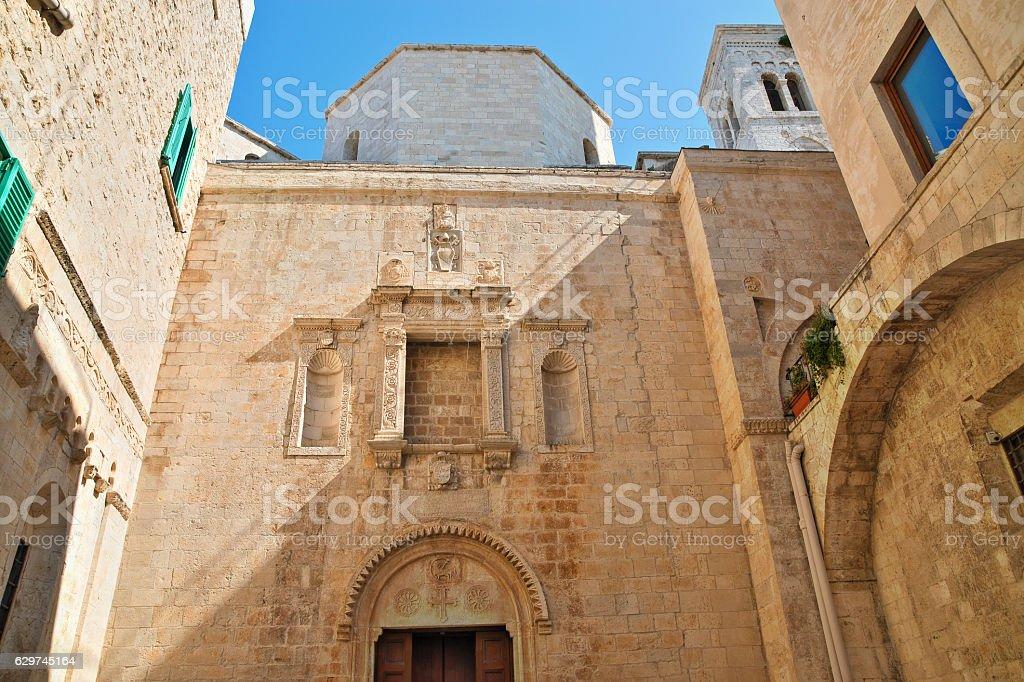 Duomo of St. Corrado. Molfetta. Puglia. Italy. stock photo