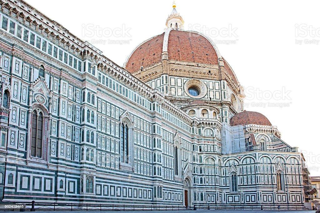 Duomo Santa Maria del Fiore Cathedral. Florence, Italy stock photo