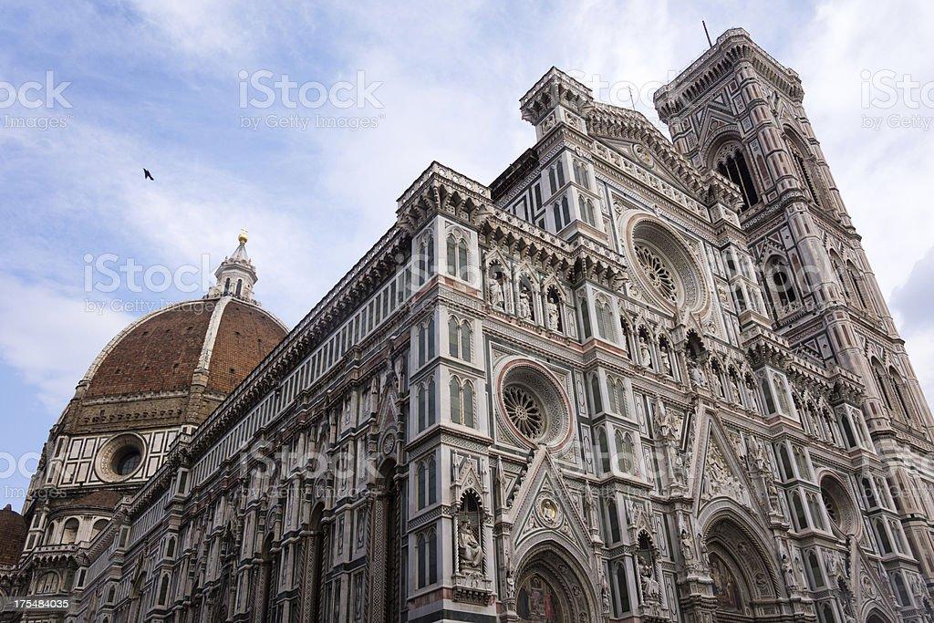 Duomo Santa Maria Del Fiore in Florence royalty-free stock photo