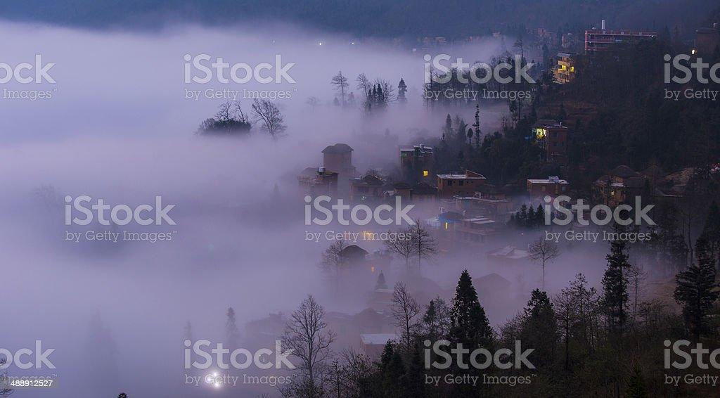 Duoyishu Village stock photo