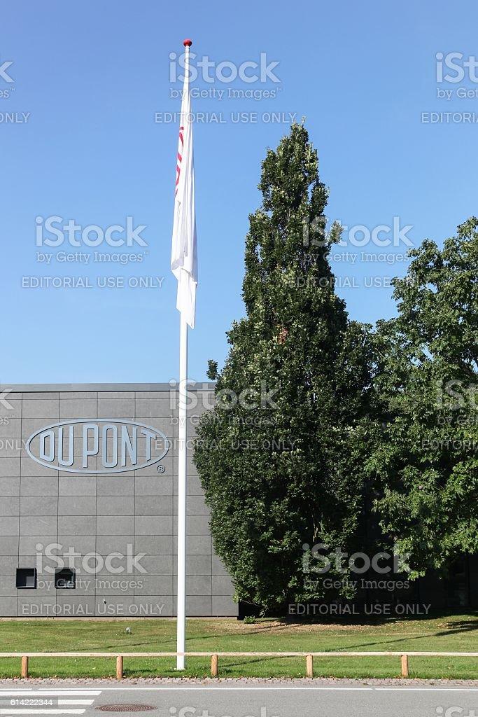 DuPont building in Denmark stock photo