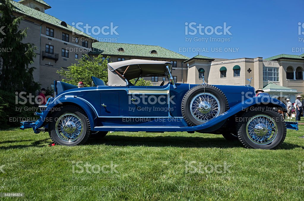 DuPont Roadster stock photo