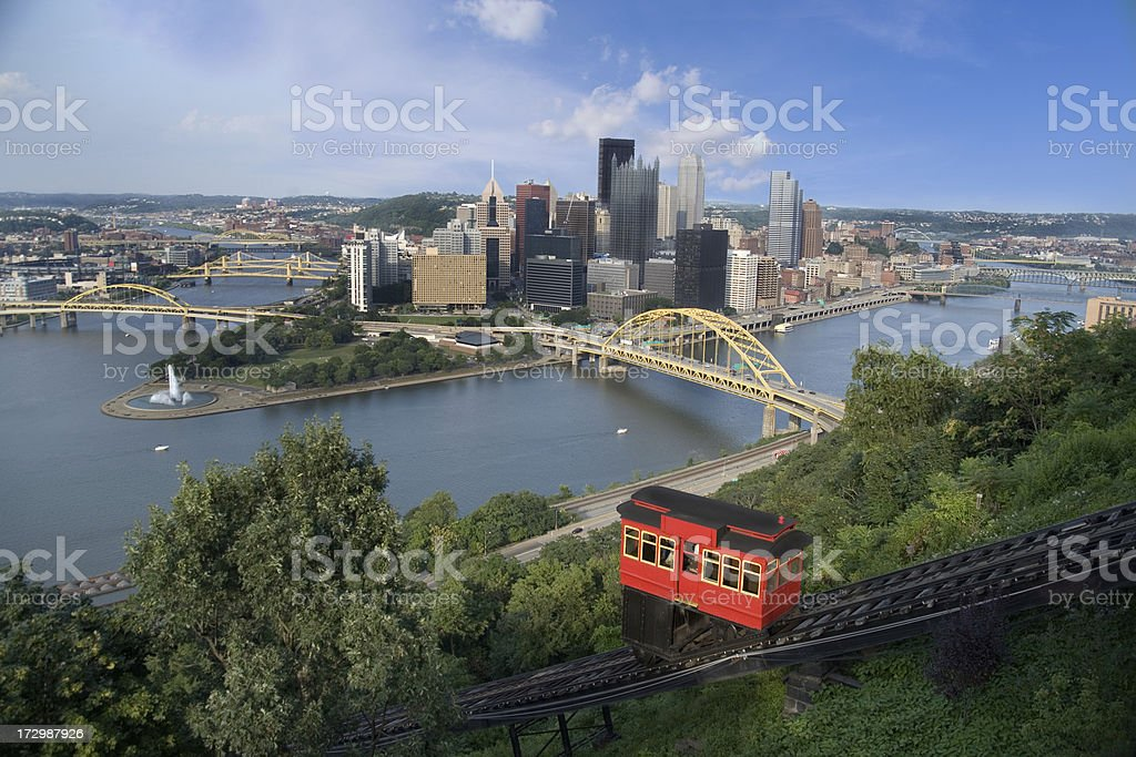 Duquesne Incline stock photo