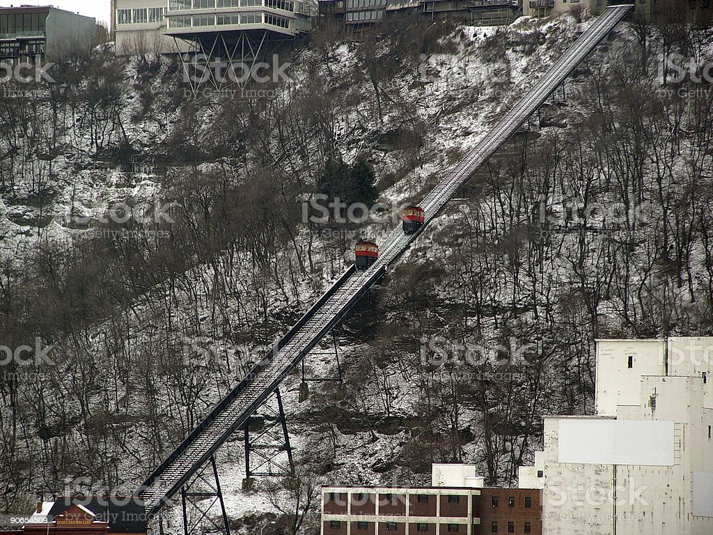 Duquesne  Incline royalty-free stock photo