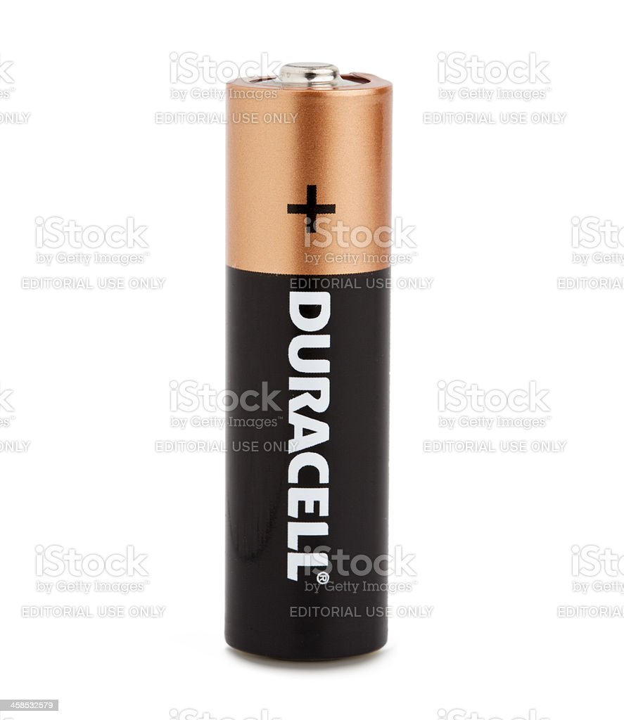 Duracell stock photo