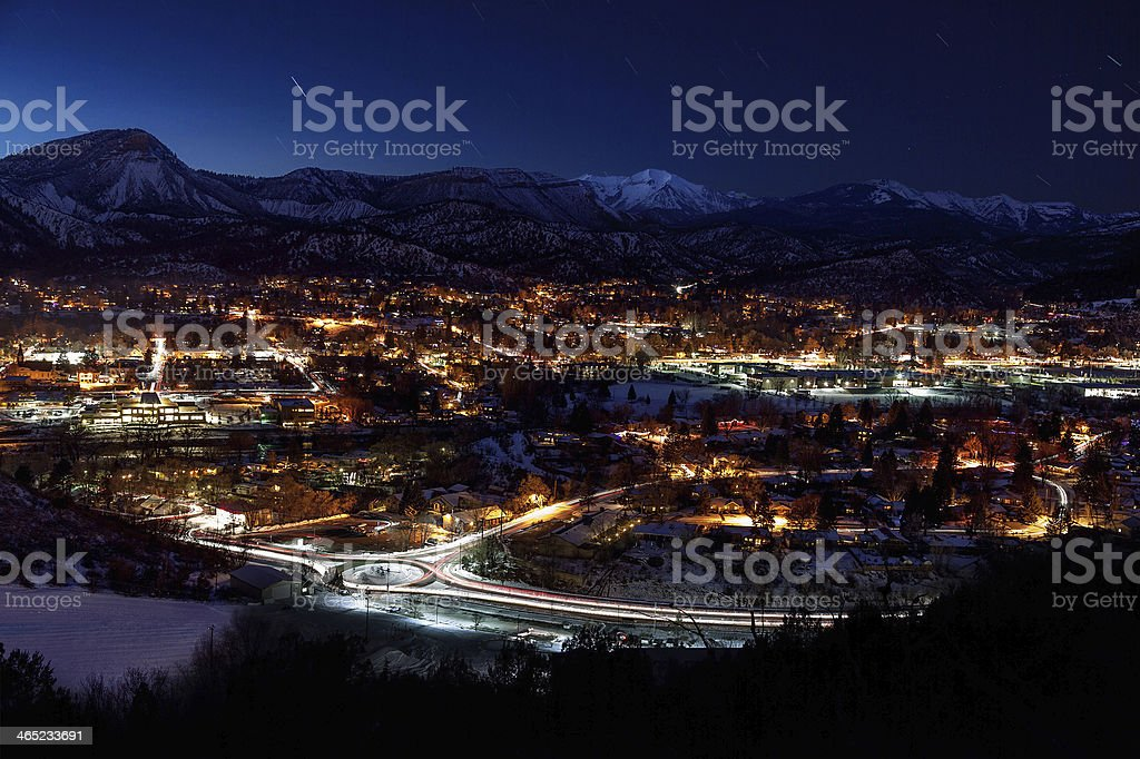 Durango after hours stock photo