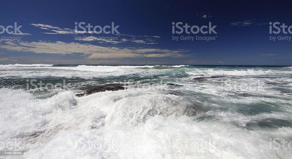 Durban coastline royalty-free stock photo
