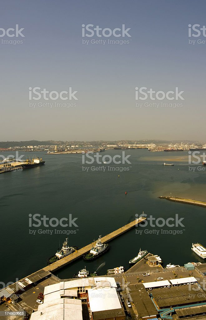 Durban port royalty-free stock photo