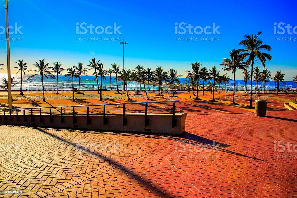 Durban Promeade stock photo