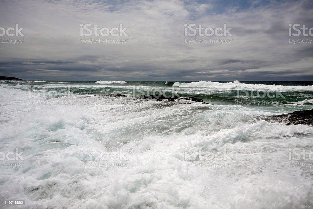 Durban Seascape royalty-free stock photo