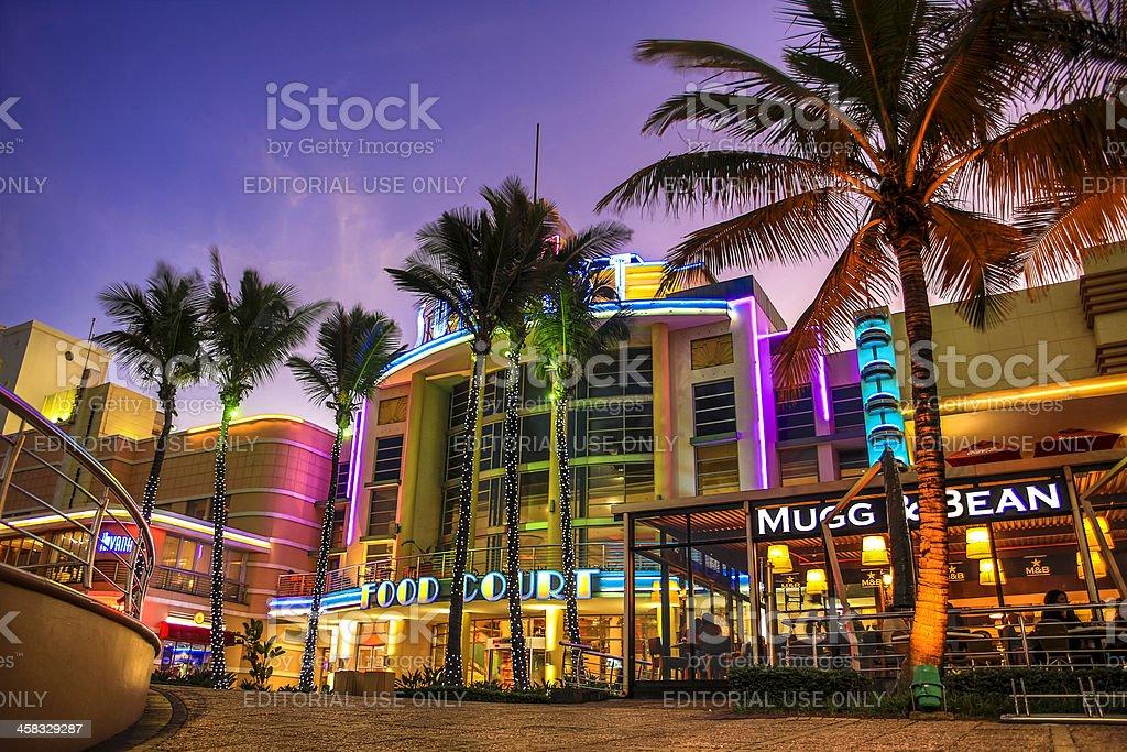 Durban Sun Coast Casino stock photo