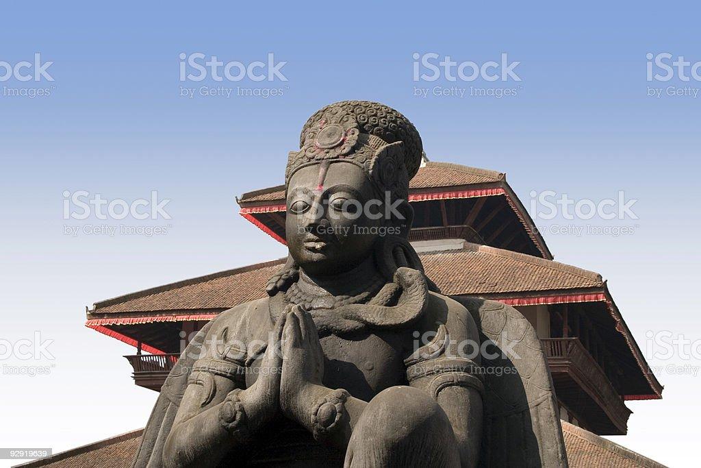 Durbar Square - Kathmandu, Nepal royalty-free stock photo