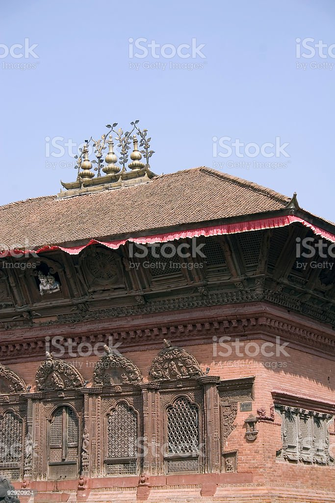 Durbar Square - Kathmandu, Nepal stock photo