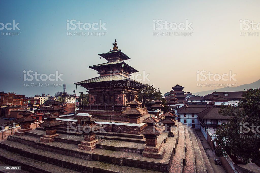 Durbar Square, UNESCO World Heritage Site, Kathmandu, Nepal, Asia stock photo