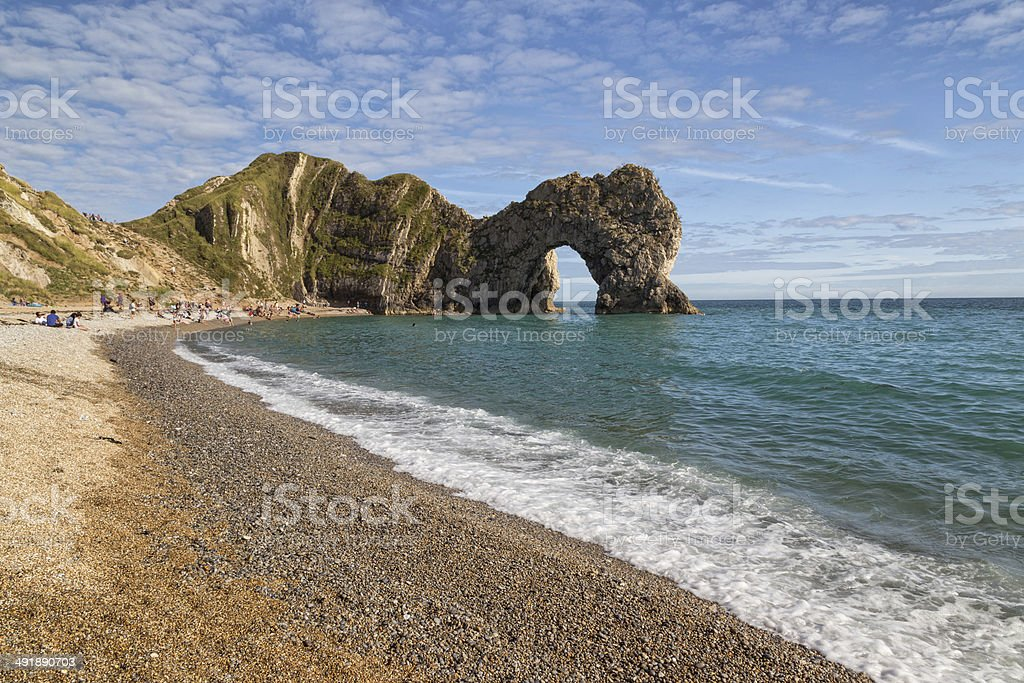 Durdle Door, Dorset stock photo