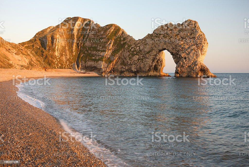 Durdle Door Sea Arch, Dorset royalty-free stock photo