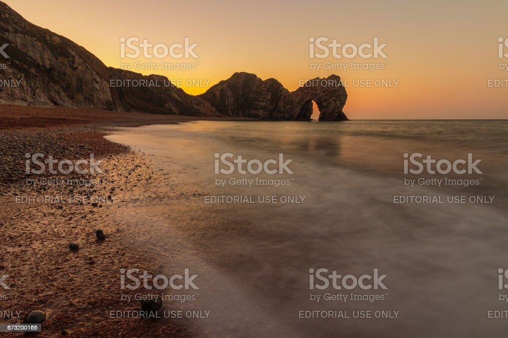 Durdle Door - Visit Dorset stock photo