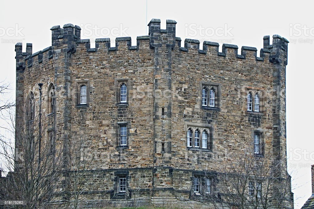 Durham Castle Keep stock photo