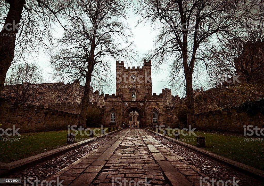 Durham Castle, North East UK stock photo
