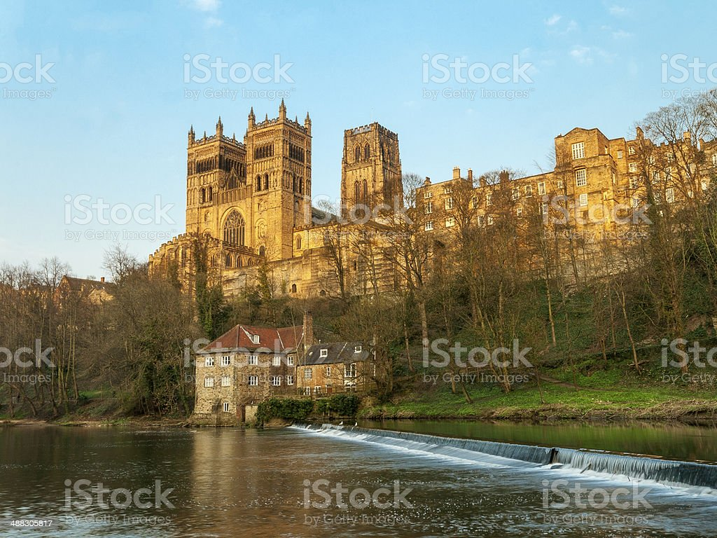 Durham Cathedral , England stock photo