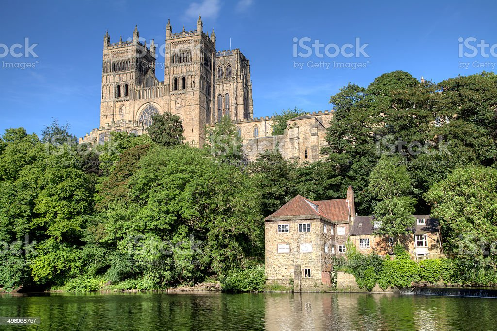 Durham Cathedral in Summer Light stock photo