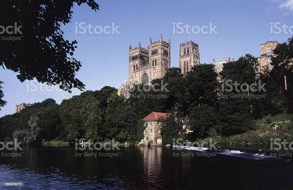 Durham Cathedral, North-East England royalty-free stock photo