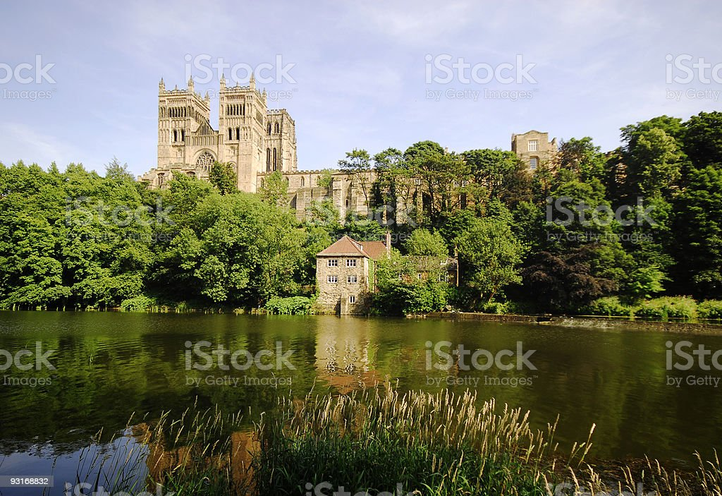 Durham Cathedral royalty-free stock photo