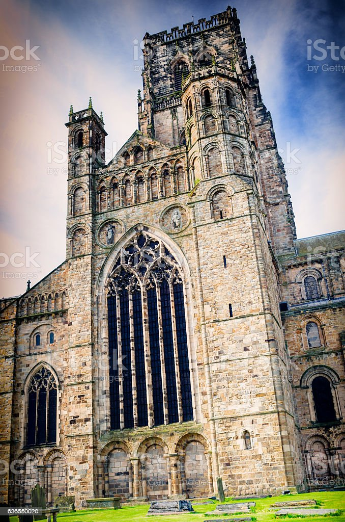 Durham Cathedral,England stock photo
