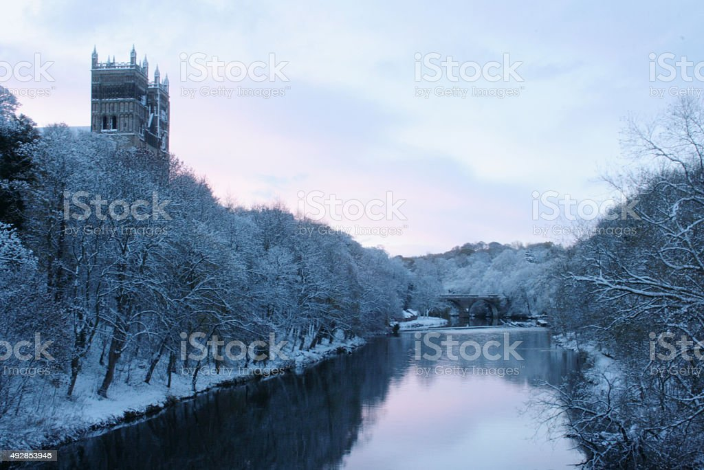 Durham Cathedrall stock photo