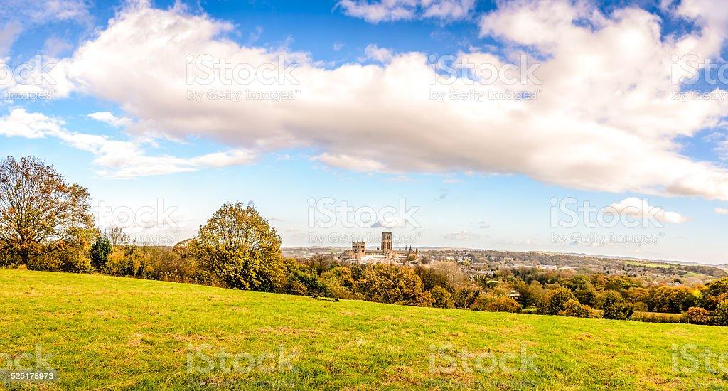 Durham City stock photo