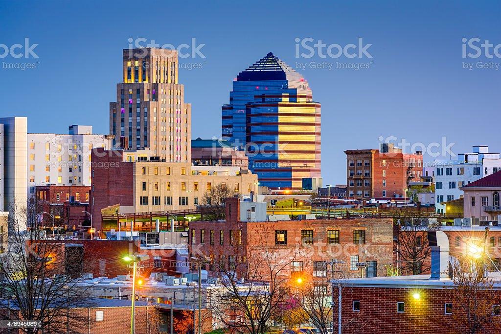 Durham Skyline stock photo