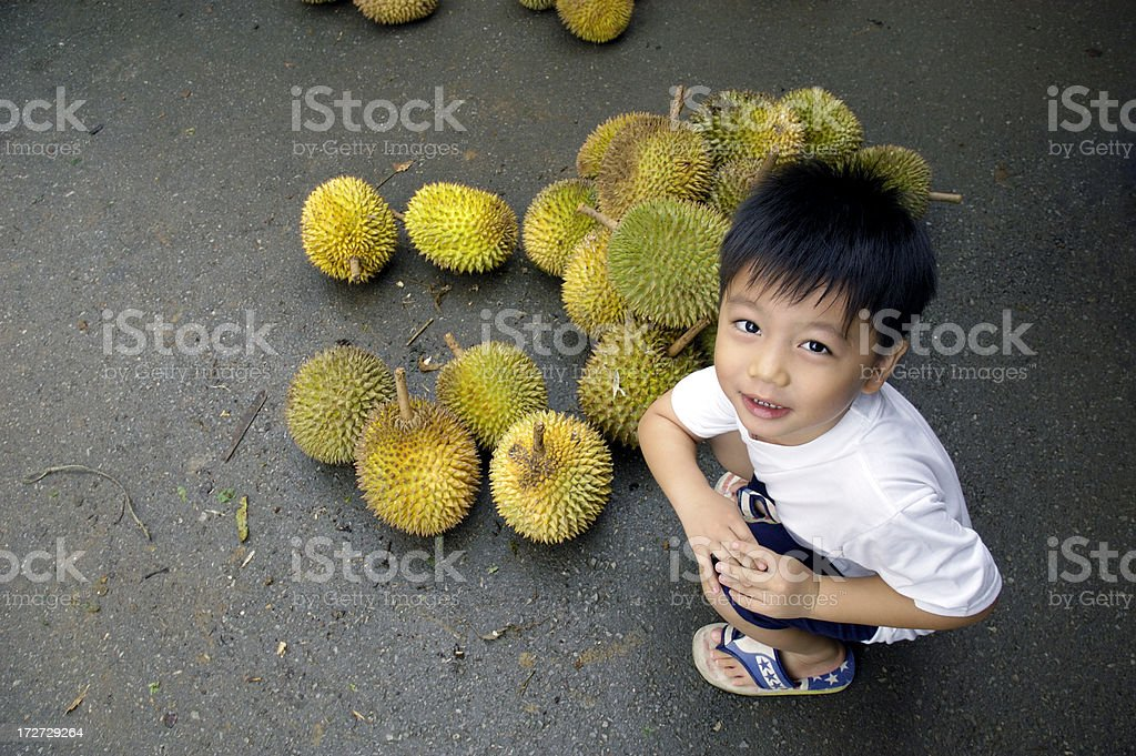 Durian Lover stock photo