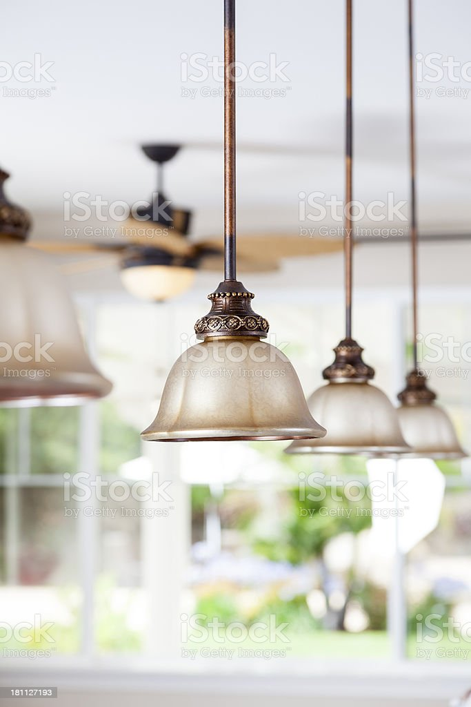 Pendant Lights stock photo