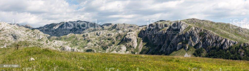 Durmitor Nationalpark Montenegro Panorama stock photo