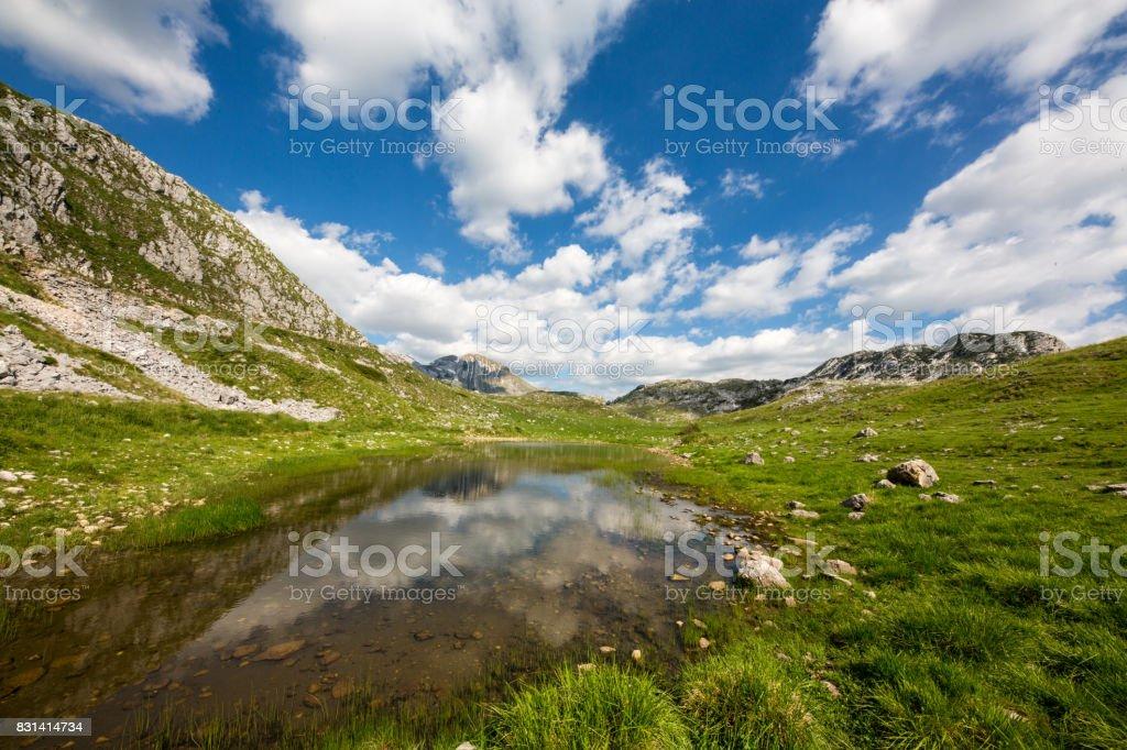Durmitor Nationalpark Montenegro stock photo