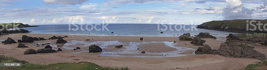 durness beach highlands royalty-free stock photo