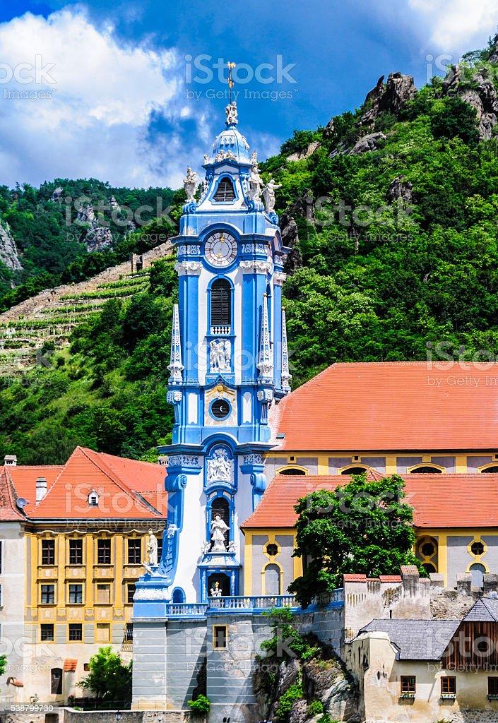 Durnstein Abbey Tower stock photo