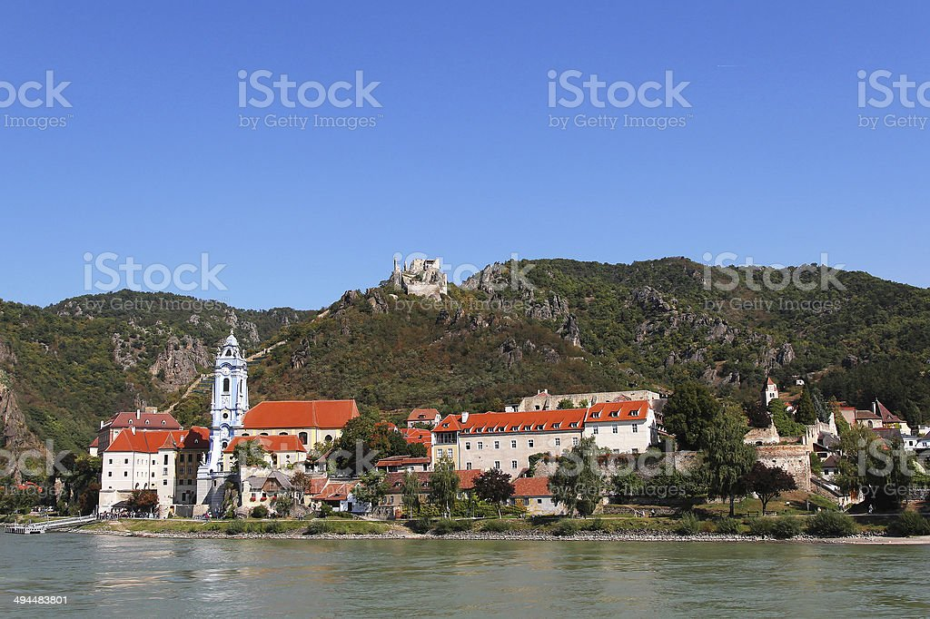 Durnstein, Austria royalty-free stock photo