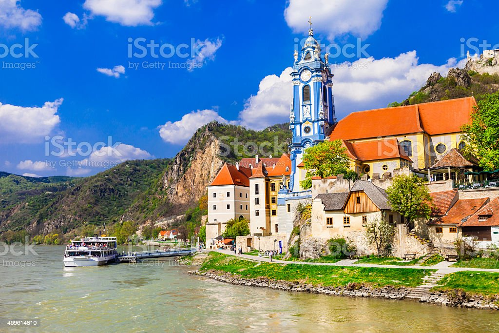 Durnstein Near Vienna,Austria. stock photo