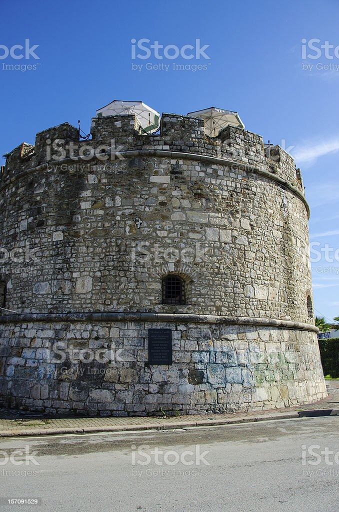 Durres, Albania - Venetian Tower royalty-free stock photo